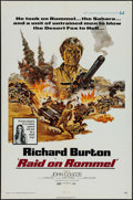 """Movie Posters:War, Raid on Rommel & Other Lot (Universal, 1971). One Sheet (27"""" X41"""") & Portrait Poster (20"""" X 30"""") Richard Harris Style.War.... (Total: 2 Items)"""