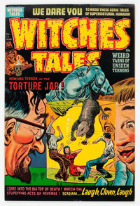 Witches Tales #13 File Copy (Harvey, 1952) Condition: FN+
