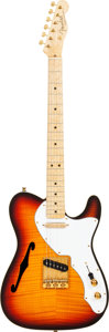 Musical Instruments:Electric Guitars, 1993 J. Black Masterbuilt Fender Custom Shop Telecaster ThinlineSunburst Solid Body Electric Guitar, Serial # 0303, Weight: 6...