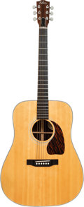 Musical Instruments:Acoustic Guitars, 1992 Gibson J-60 Natural Acoustic Guitar, Serial # 92162004....
