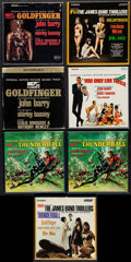 "Movie Posters:James Bond, Goldfinger & Others Lot (United Artists & Music Tapes Inc, 1964). 4 Track Reel to Reel Tapes (13) (7.25"" X 7.25""). James Bon... (Total: 13 Items)"