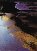 Photographs:20th Century, ELIOT PORTER (American 1901-1990). Reflections in Pool, IndianCreek, Escalante River, Utah, September 22, 1965, 1980. D...