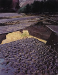Photographs:20th Century, ELIOT PORTER (American 1901-1990). Escalante River Outwash, GlenCanyon, September 2, 1962, 1980. Dye-transfer print, mo...