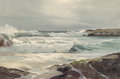 Fine Art - Painting, American:Contemporary   (1950 to present)  , Robert William Wood (American, 1889-1979). South West Wind.Oil on canvas. 24 x 36 inches (61 x 91.4 cm). Signed lower r...