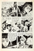 Original Comic Art:Panel Pages, Jerry Grandenetti and Frank Giacoia Fight the Enemy #1 Story Page 7 Original Art (Tower Comics, 1966)....