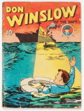 Golden Age (1938-1955):Adventure, Four Color (Series One) #2 Don Winslow of the Navy (Dell, 1939) Condition: FR....