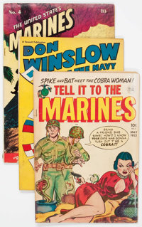 Golden Age War Related Group of 14 (Various Publishers, 1950) Condition: Average GD.... (Total: 14 Comic Books)