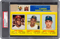 Baseball Cards:Singles (1970-Now), 1970 Transogram (Complete Box) Clemente/Gibson/Koosman PSA VG-EX 4- The Highest Graded Example! ...