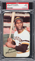 Baseball Cards:Singles (1970-Now), 1971 Topps Super Roberto Clemente #37 PSA Mint 9 - Only One Higher. ...