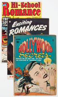 Golden Age (1938-1955):Romance, Golden Age Romance Group of 9 (Various Publishers, 1950s)Condition: Average GD.... (Total: 9 Comic Books)