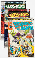 Bronze Age (1970-1979):Humor, Howard the Duck Group of 17 (Marvel, 1976-79) Condition: AverageVF/NM.... (Total: 17 Comic Books)