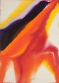 Works on Paper, Paul Jenkins (1923-2012). Phenomena Archer's Arm, 1980. Watercolor on paper. 43 x 31 inches (109.2 x 78.7 cm) (sheet). S...