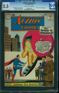 Silver Age (1956-1969):Superhero, Action Comics #271 (DC, 1960) CGC FN- 5.5 Cream to off-white pages.