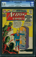 Silver Age (1956-1969):Superhero, Action Comics #292 (DC, 1962) CGC GD+ 2.5 Cream to off-white pages.