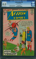 Silver Age (1956-1969):Superhero, Action Comics #299 (DC, 1963) CGC VG 4.0 Cream to off-white pages.