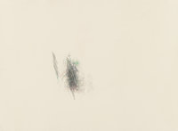 Alan Saret (b. 1944) May Cross All-in, 1983 Colored pencil on Arches 88 paper 22-1/2 x 30 inches