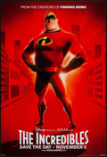 "Movie Posters:Animation, The Incredibles (Buena Vista, 2004). One Sheet (27"" X 40"") DSAdvance Mr. Incredible Style. Animation.. ..."