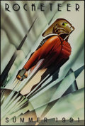 "Movie Posters:Action, Rocketeer (Walt Disney Pictures, 1991). One Sheet (27"" X 40"") SSAdvance. Action.. ..."
