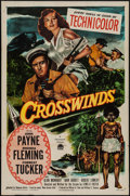 "Movie Posters:Adventure, Crosswinds & Other Lot (Paramount, 1951). One Sheets (2) (27"" X41""). Adventure.. ... (Total: 2 Items)"