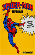 "Movie Posters:Action, Spider-Man (Cannon, 1985). One Sheet (29.5"" X 46.5"") Advance.Action.. ..."