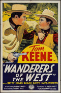 "Movie Posters:Western, Wanderers of the West (Monogram, 1941). One Sheet (27"" X 41""). Western.. ..."