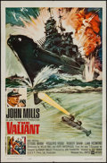 "Movie Posters:War, The Valiant & Others Lot (United Artists, 1962). One Sheets (3)(27"" X 41""), British One Sheet (27"" X 40""), & Lobby Cards (3...(Total: 7 Items)"