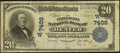 National Bank Notes:Colorado, Denver, CO - $20 1902 Plain Back Fr. 650 The United States NB Ch. #(W)7408. ...