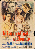 "Movie Posters:Academy Award Winners, Mutiny on the Bounty (MGM, R-1948). Italian 4 - Fogli (55"" X 78"").Academy Award Winners.. ..."