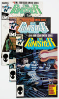 Modern Age (1980-Present):Superhero, The Punisher Related Long Box Group (Marvel, 1980s) Condition:Average VF/NM....