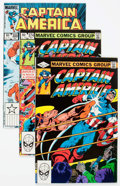 Modern Age (1980-Present):Superhero, Captain America Long Boxes Group (Marvel, 1980s) Condition: AverageVF/NM.... (Total: 2 Items)
