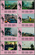 "Movie Posters:War, A Bridge Too Far (United Artists, 1977). Lobby Card Set of 8 (11"" X14""). War.. ... (Total: 8 Items)"