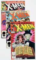 Modern Age (1980-Present):Superhero, X-Men Long Box Group (Marvel, 1980s) Condition: Average VF/NM....