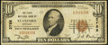 National Bank Notes:Kentucky, Stanford, KY - $10 1929 Ty. 1 The First NB Ch. # 2788. ...