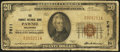 National Bank Notes:Oklahoma, Pawnee, OK - $20 1929 Ty. 1 The Pawnee NB Ch. # 7611. ...