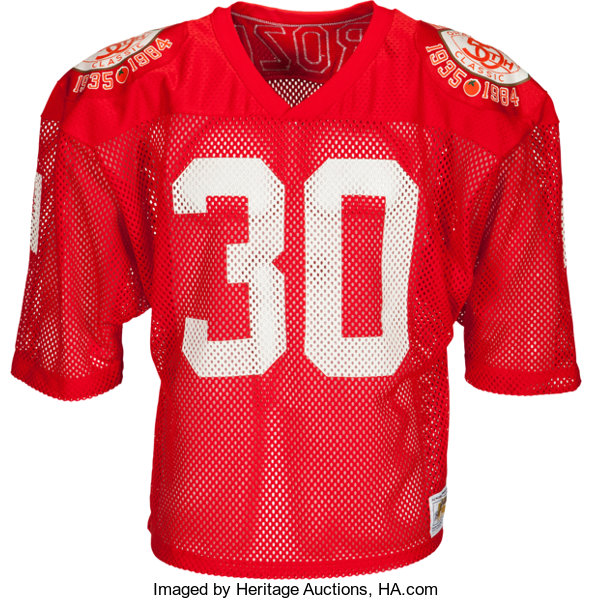 new product 46bd1 d8145 1984 Mike Rozier Team Issued Nebraska Cornhuskers Jersey ...