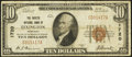 National Bank Notes:Kentucky, Lexington, KY - $10 1929 Ty. 1 The Fayette NB Ch. # 1720. ...