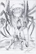 Original Comic Art:Miscellaneous, Alex Ross The Incredible Shrinking Man PreliminaryIllustration Original Art (undated)....