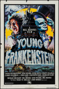 """Movie Posters:Comedy, Young Frankenstein (20th Century Fox, 1974). One Sheet (27"""" X 41"""")Style B & Uncut Pressbook (8.5"""" X 14""""). Comedy.. ..."""