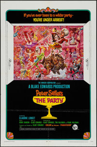 """The Party (United Artists, 1968). One Sheets (2) (27"""" X 41"""") Style A & B. Comedy. ... (Total: 2 Items)"""