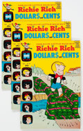 Silver Age (1956-1969):Humor, Richie Rich Dollars and Cents File Copy Long Box Group (Harvey, 1969-82) Condition: Average NM-....