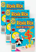 Modern Age (1980-Present):Humor, Richie Rich Best of the Years #6 File Copy Long Box Group (Harvey,1980) Condition: Average NM-....
