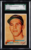 Baseball Cards:Singles (1950-1959), 1957 Topps Brooks Robinson #328 SGC 84 NM 7....