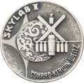 Explorers:Space Exploration, Skylab I (SL-2) Unflown Silver Robbins Medallion, Serial Number 292, Originally from the Personal Collection of Astronaut Alan...