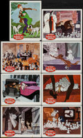 "Movie Posters:Animation, 101 Dalmatians (Buena Vista, 1961). Lobby Cards (8) (11"" X 14"").Animation.. ... (Total: 8 Items)"