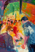 Fine Art - Painting, American:Contemporary   (1950 to present)  , LeRoy Neiman (American, 1921-2012). Trattoria Terzaaz, 1966.Oil on Masonite. 35 x 24 inches (88.9 x 61.0 cm). Signed an...