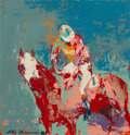 Fine Art - Painting, American:Contemporary   (1950 to present)  , LeRoy Neiman (American, 1921-2012). Jockey Up, 1959. Oil onboard. 15-1/4 x 14-3/4 inches (38.7 x 37.5 cm). Signed and d...