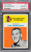 Basketball Cards:Singles (Pre-1970), 1961 Fleer Tom Meschery #31 PSA NM-MT 8....
