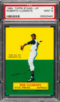 Baseball Cards:Singles (1960-1969), 1964 Topps Stand-Up Roberto Clemente PSA Mint 9 - None Higher. ...