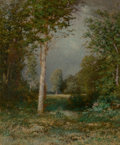 Fine Art - Painting, American:Antique  (Pre 1900), Alexander Helwig Wyant (American, 1836-1892). A ForestGlade, 1882. Oil on canvas. 24 x 20 inches (61.0 x 50.8 cm).Sign...