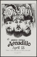 "Movie Posters:Rock and Roll, Dr. John with Greezy Wheels at the Armadillo World Headquarters(Armadillo, 1974). Concert Poster (11"" X 17""). Rock and Roll..."